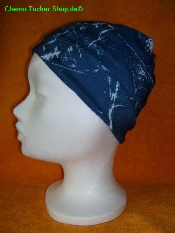 Multifunktionstücher binden - die fertige Mütze