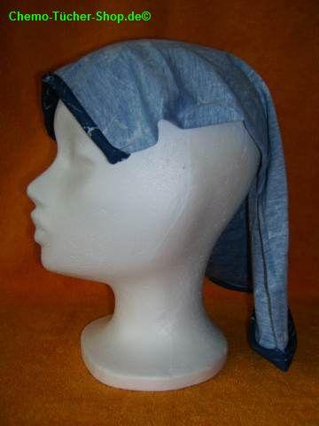 Multifunktions binden - das Tuch auf den Kopf legen