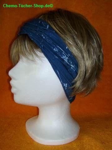 Multifunktionstücher binden - als Haarband verwenden