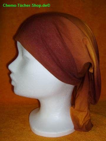 Multifunktionstücher binden - ein Tuch auf den Kopf ziehen