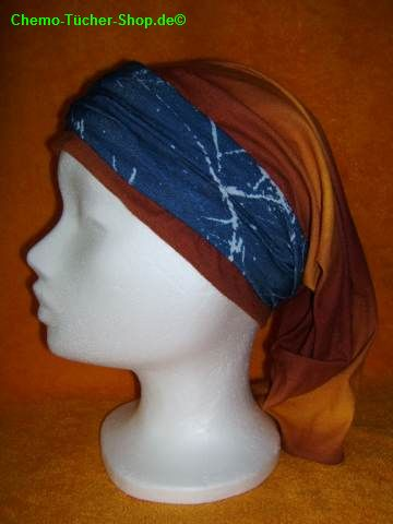 Multifunktionstücher binden - ein Tuch als Stirnband kombinieren