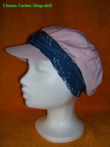 Multifunktionstücher binden - um eine Mütze als Stirnband gebunden